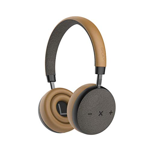 SACKit – TOUCHit S On-Ear Bluetooth Kopfhörer - bequemes Headset mit Noice Cancelling Funktion & Bester So&qualität– kabellose Kopfhörer im dänischen Design - Golden