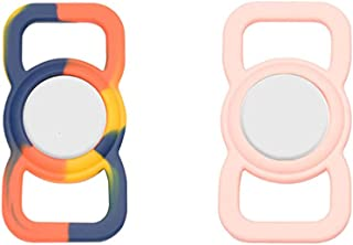 $24 » LLLucky Pet Silicone Protective Case for Apple Airtag GPS Finder Pet Loop Holder Adjustable Tracking,for Children Elderly ...