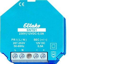 Eltako Netzteil, SNT61-230V/12VDC-0,5A