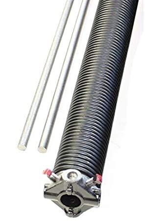 Best Prices! Garage Door Torsion Spring .234 x 2″ x 28″ Left w/ 2 Winding Bars Tool Overhead