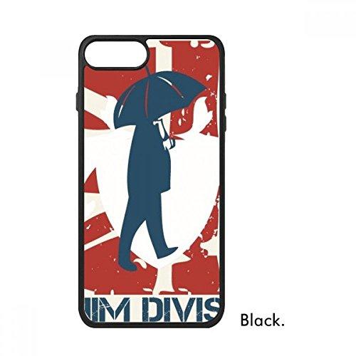 Bestchong Rood Blauw Man Paraplu Patroon Graffiti Straat Voor iPhone SE 2 nieuw voor Apple 78 Case Cover