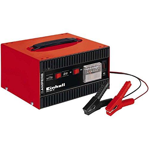 Einhell CC-BC 8 - Cargador de batería, amperímetro