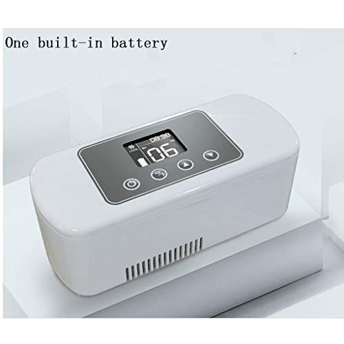 Koelbox met oplaadbare mini-autokoelbox (met een ingebouwde batterij).