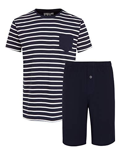 Jockey® Cotton Nautical Stripe ½ Knit Short Pyjama