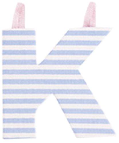 JoJo Maman Bébé - Lettre K en Tissu Couleur Pastel