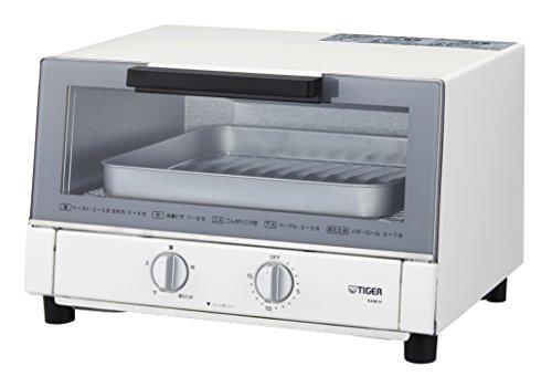 タイガー魔法瓶(TIGER) オーブン トースター やきたて ホワイト KAM-H130-W