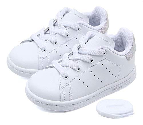 adidas Stan Smith El I, Zapatillas de Deporte Niños Unisex niño, Blanco (Blanco 000), 24 EU