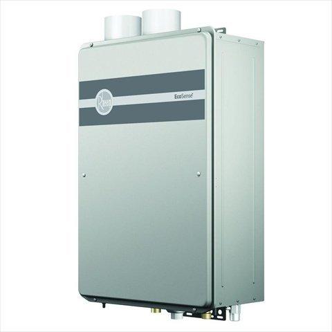 Rheem EcoSense 8.4 GPM 157,000 BTU Ultra Low Nox Natural Gas High Efficiency Indoor Tankless Water Heater