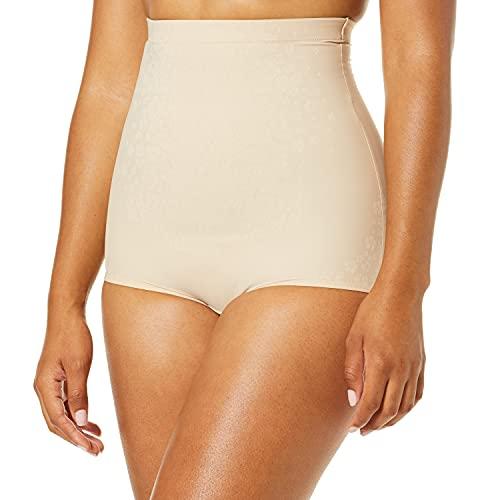 Maidenform Fitsense High Waist Brief Faja Moldeadora, Beige (Nude 1/Transparente Ix1), 44 (Talla del Fabricante: XX-Large) para Mujer ⭐