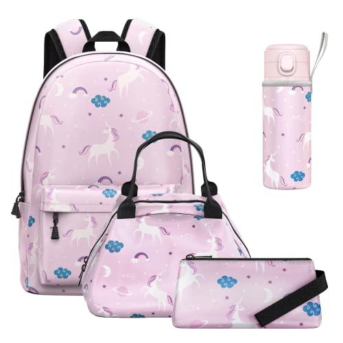 PataStar Kids Backpack, Girls 4 Pie…