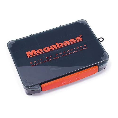Megabass Lunker Box Tackle Lure Box Original 13?x 20?x 3%¶ÝÏ%6?mm schwarz rot (1205)