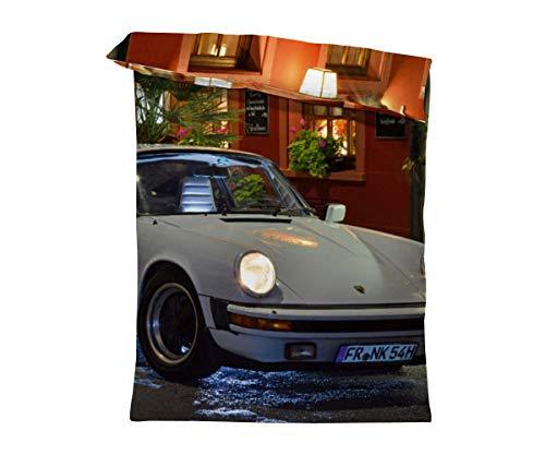 fotobar!style Bettbezug 135 x 200 cm EIN Motiv aus dem Kalender Porsche 911 SC Pure Ästhetik
