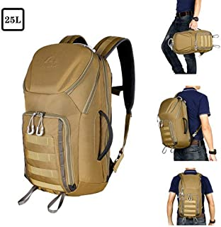 Aione Tactical Backpack Military Army Backpack Daypack 25L/30L/32L/38L Assault Pack Bug Out Bag with Hard Shell Top Pocket