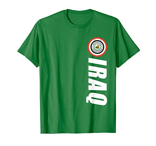 Iraqi Lions Of Mesopotamia Clothes Graphic Republic Of Iraq T-Shirt