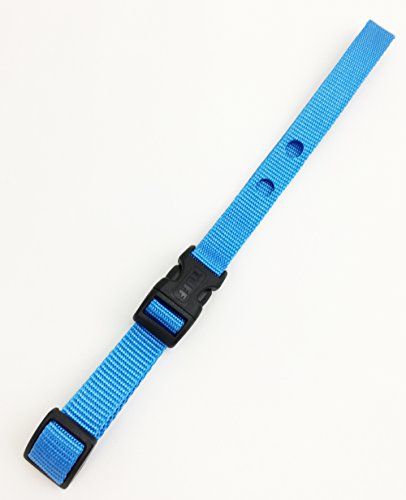 TUFF Collar Dog Fence Receiver Heavy Duty Replacement Strap (Blue)