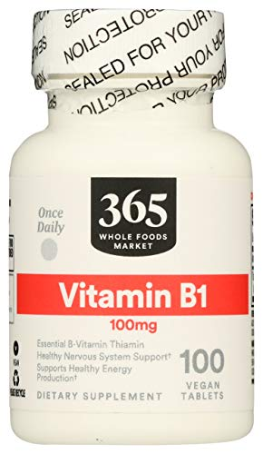 365 by WFM, Vitamin B1 100Mg, 100 Tablets