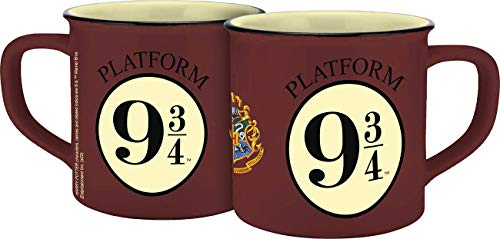 Warner Brothers Harry Potter 13273 Keramiktasse in Emaille-Optik, Keramik, 300 milliliters