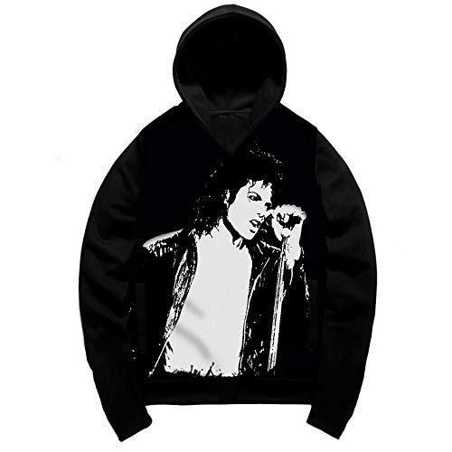 LJA Michael Jackson Hoodies Männer Frauen Sweatshirts 3D Print Unisex Trainingsanzug Tops