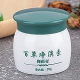 Crema antibacteriana de la nariz, hecha de crema de plantas extractos de mascarilla