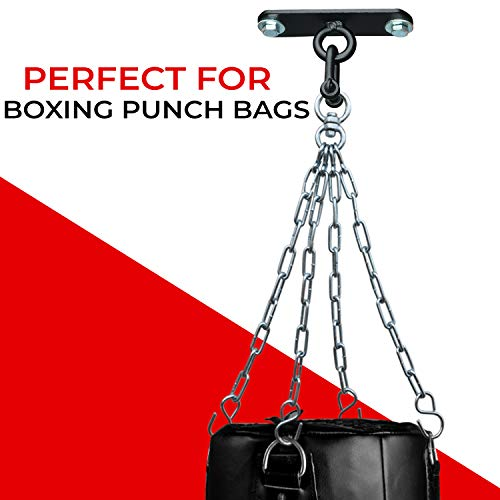 AQF Boxing Punch Bag Iron Ceiling Hook Mount Heavy Duty MMA Training Ceiling Hanger