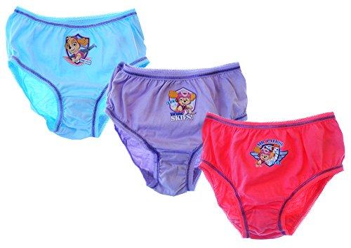 Nickelodeon Kinder Unterhose Slips PAW Patrol 3er Set 80-110 Höschen (2/3 Jahre)