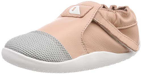 Bobux Xplorer Origin, Baby Shoes for Boys & Girls, 9 to 24 Months, The Best Toddler & Infant First Walking Shoe, Premium Leather, Durable Superfabric Toecap, Blush
