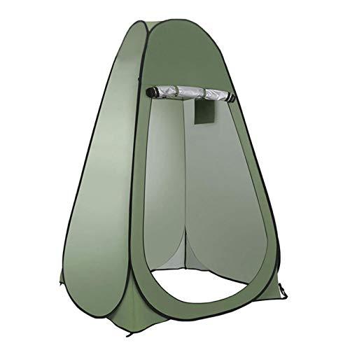 Zhihui Pop up Umkleidezelt Toilettenzelt- Portable Duschzelt Camping Toiletten- Privatsphäre Zelte für Draussen Camping/Beach/Fotografie Arbeit