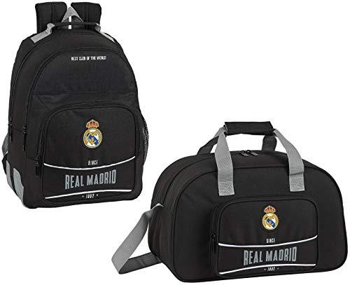 Real Madrid '1902' Schulrucksack Sporttasche Jungen Fußball-Rucksack Trainings-Tasche