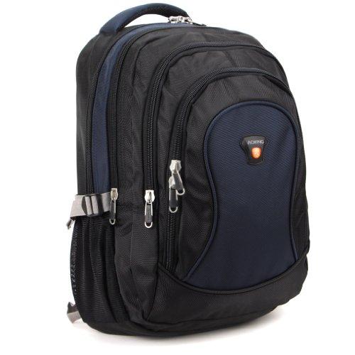 AOKING Herren Laptop Rucksack hn26302, Farbe dunkelblau, Größe 27,9x 45,7x 17,8cm