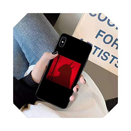 Sexy Girl Lovely Devil Woman Phone Case for iPhone 11 12 Pro XS Max 8 7 6 6S Plus X 5S SE 2020 XR Mini A10-for iPhone SE 2020