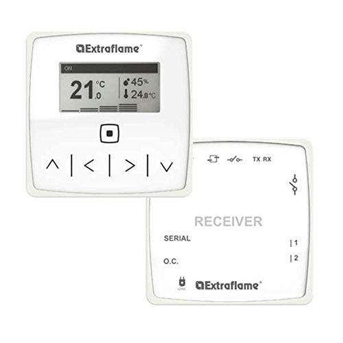 Kit Thermostat Wireless mit Empfangsgerät für Pelletöfen Extraflame