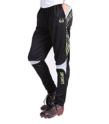 Pour Garçons, Casual sports la transpiration Pantalon Jogging Baggy pour Homme, Vert Fluo