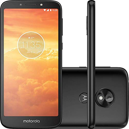 Motorola Moto E5 Play XT1920-19 Factory Unlocked 16GB Dual SIM 1GB RAM 4G LTE 5.3' LCD Display 8MP International Version (Black)