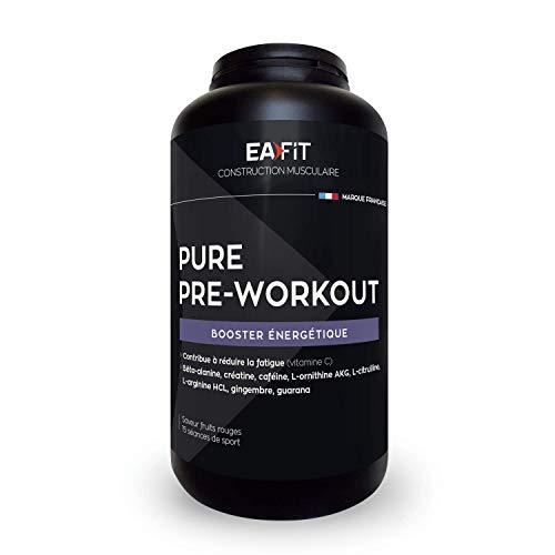 """EAFIT Pure Pre Workout """"Booster Énergétique 330 g"""