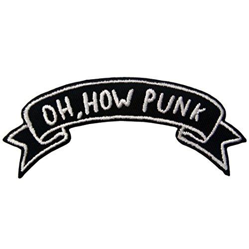 Parche termoadhesivo para la ropa, diseño de Oh How Punk/Oh, qué punk