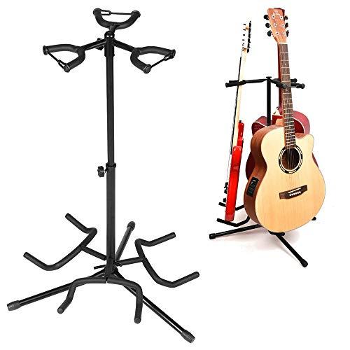 Chitarra universale stand Ferro cremagliera del banco di storage con protezione cotone Head 3 Multi strumento acustico...