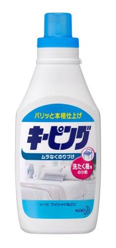 花王『キーピング 洗たく機用のり剤』