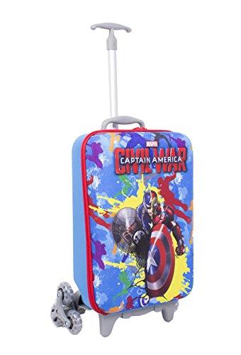 TROLLEY Marvel - CAPTAIN AMERICA - Blue - Civil War - Scuola e viaggio - capitan