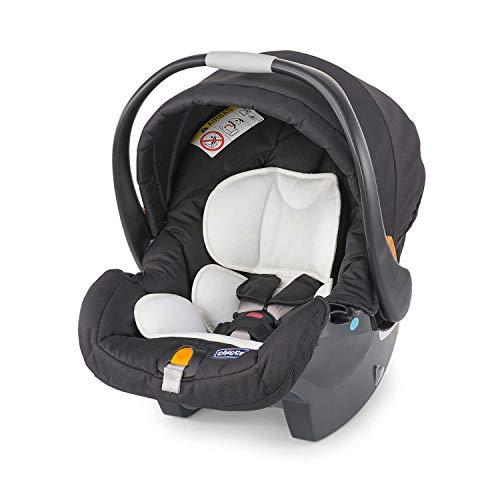 Chicco Key Fit Seggiolino Auto 0-13 kg Gruppo 0+ per Bambini da 0 a 15 Mesi, Facile da Installare, Ovetto Neonato con Cuscino Mini-Riduttore, Si...