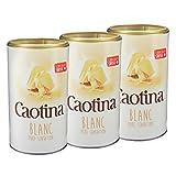 Caotina blanc, Cacao en Polvo de Chocolate Blanco Suizo, Bebida Caliente de Chocolate, Pack Triple, 3 x 500 g