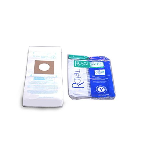 TVP Replacement for Royal Y Vacuum Bags-aire y Bag Fits CR50005 (7 Bags)