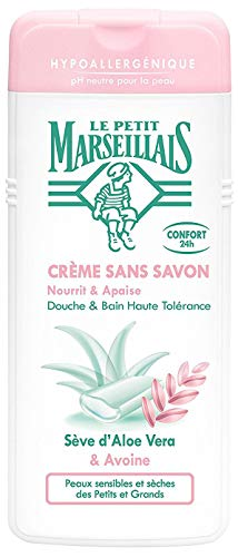 Le Petit Marseillais Handdusche, hypoallergen, Aloe Vera, Avoine, 650 ml, 1 Stück