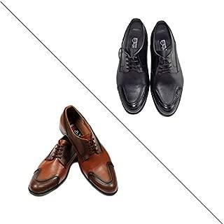 Eray Kundura Klasik Siyah ve Taba Erkek Ayakkabısı