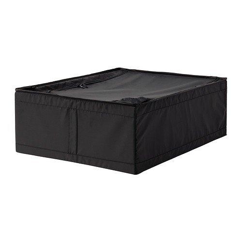 IKEA SKUBB Tasche schwarz 44 x 55 x 19 cm Schrankfach Box Aufbewahrung Fach NEU