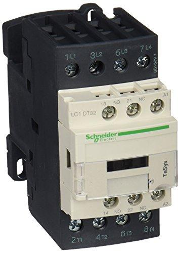 Schneider Electric LC1DT32P7 TeSys D, Contactor, 4P(4 NA) AC-1, 440 V 32 A, bobina 230 V CA 50/60 Hz