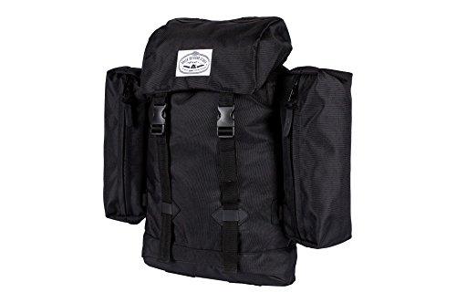 POLER Unisex-Erwachsene Classic blk Rucksäcke, schwarz, Einheitsgröße