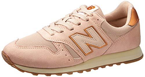 Tênis New Balance 373, Feminino, Rosa/Cobre, 36