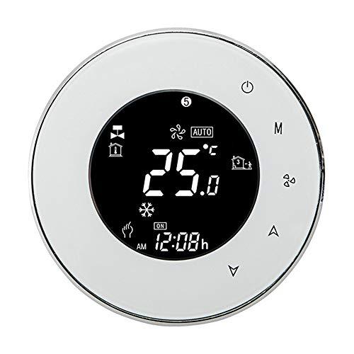 Lydul Smart WiFi touchscreen, thermostaat, draadloze temperatuurregelaar voor water/elektrische verwarming voor water/gaskoker, Google
