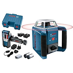 Bosch Professional GLL 3-80 C – Nivel láser (1 batería x 2.0 Ah, 12V, alcance 30 / 120 m, láser rojo, conexión Bluetooth, en L-BOXX)