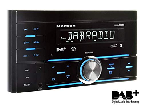 Autoradio 2 Din AM/FM/DAB+ / SD/USB/Bleutooth